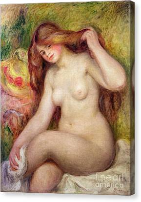 Nude Canvas Print by Renoir