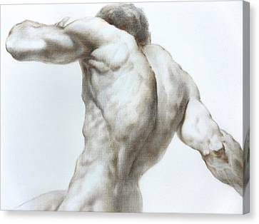 Nude1c Canvas Print by Valeriy Mavlo