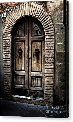 Number 13 Canvas Print by Prints of Italy