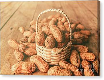 Nut Basket Case Canvas Print by Jorgo Photography - Wall Art Gallery