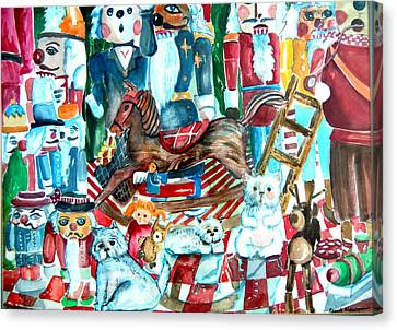 Nutcracker Suite Canvas Print by Mindy Newman