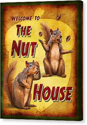 Nuthouse Canvas Print by JQ Licensing