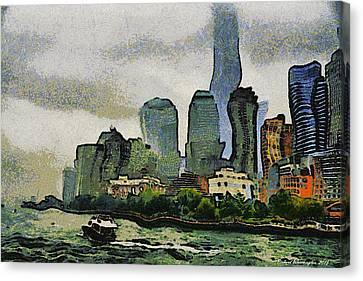 Nyc 2016 Canvas Print by Richard Worthington
