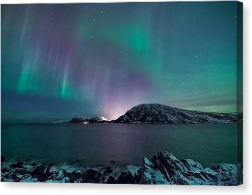 O Holy Night Canvas Print by Tor-Ivar Naess