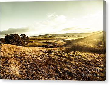 Oatlands Rolling Hills Canvas Print by Jorgo Photography - Wall Art Gallery