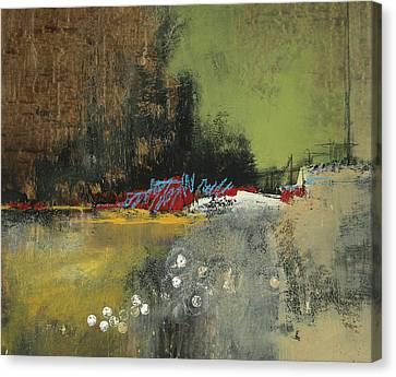 Obscure Horizon Canvas Print by M Allison
