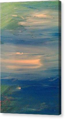 Ocean Abstract Canvas Print by Brad Scott