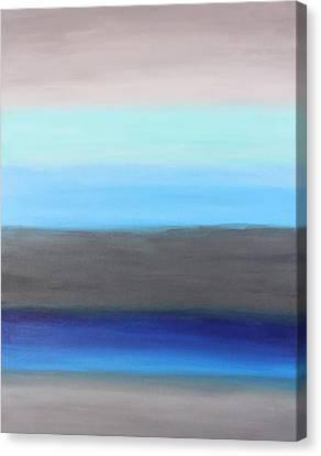 Ocean Floor Canvas Print by Rachel Follett