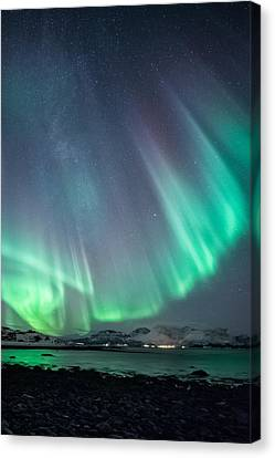 Ocean View Canvas Print by Tor-Ivar Naess