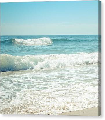 Ocean Waves Canvas Print by Colleen Kammerer