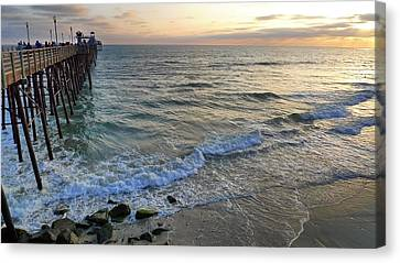 Oceanside Canvas Print by Skip Hunt