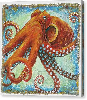 Octo Canvas Print by Danielle Perry