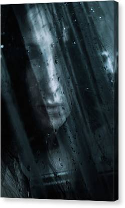 October Rain Canvas Print by Cambion Art