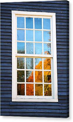 October Reflections 4 Canvas Print by Edward Sobuta