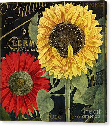 October Sun II Canvas Print by Mindy Sommers