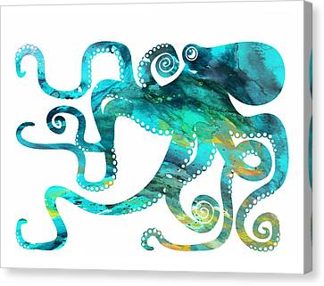 Octopus 2 Canvas Print by Donny Art