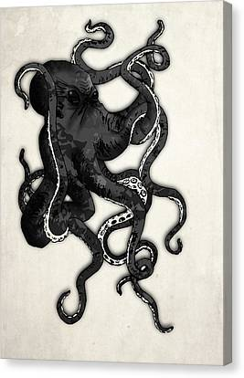 Octopus Canvas Print by Nicklas Gustafsson
