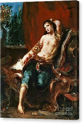 Odalisque 1857 Canvas Print by Padre Art