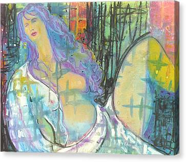 Odalisque Canvas Print by Todd  Peterson