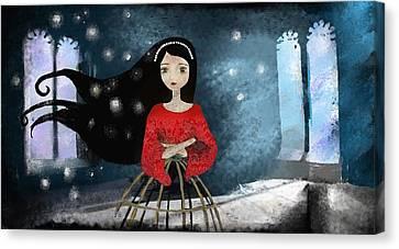 Ode Canvas Print by Yazmin Basa