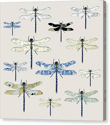 Odonata Canvas Print by Sarah Hough