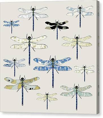 Odonata Canvas Print by Sarah Hough