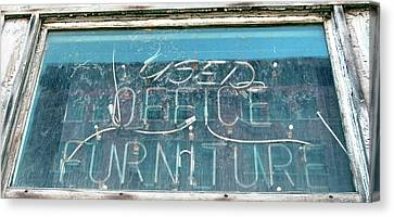 Office Furniture Canvas Print by Jame Hayes