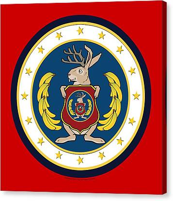Official Odd Squad Seal Canvas Print by Odd Squad