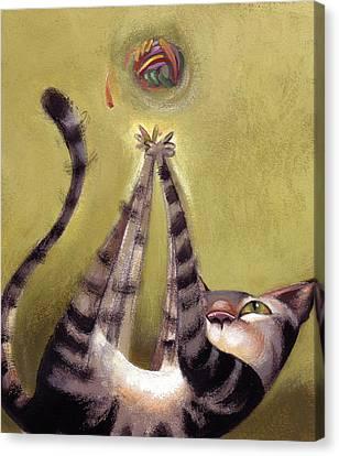 Oh Boy Canvas Print by Barbara Hranilovich
