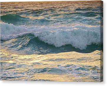 Oh  Majestic Ocean Canvas Print by E Luiza Picciano