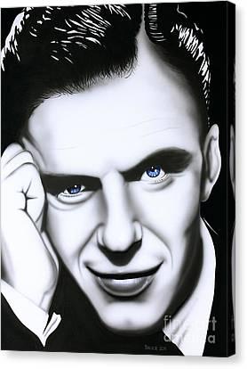 Ol' Blue Eyes Canvas Print by Bruce Carter