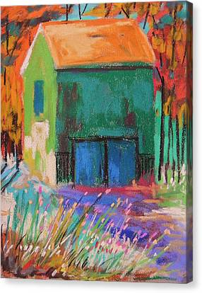 Old And Green  Canvas Print by John Williams
