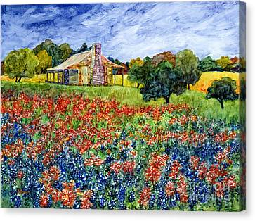 Old Baylor Park Canvas Print by Hailey E Herrera
