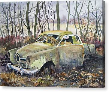 Old Bullet Nose Canvas Print by Sam Sidders