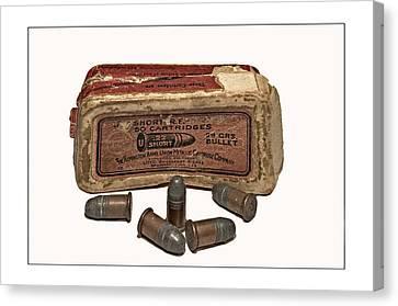 Old Bullets Canvas Print by Susan Leggett