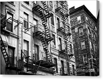 Old Chinatown Living Canvas Print by John Rizzuto