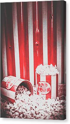 Old Cinema Pop Corn Canvas Print by Jorgo Photography - Wall Art Gallery
