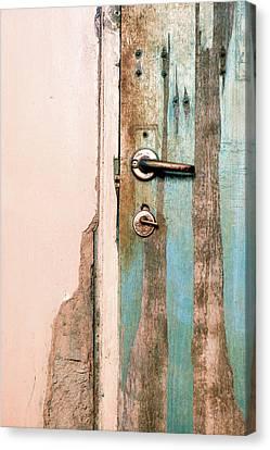 Old Door Canvas Print by Sandy