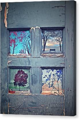 Old Doorways Canvas Print by Tara Turner