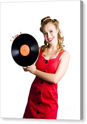 Old Fashioned Music Canvas Print by Jorgo Photography - Wall Art Gallery