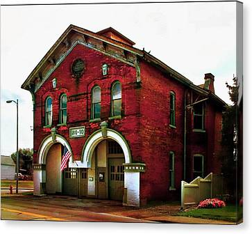 Old Firehouse No. 10 Canvas Print by Julie Dant