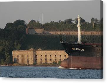 Old Fort New Fortune Canvas Print by Christopher Kirby