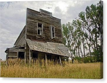Old General Store Canvas Print by James Steele