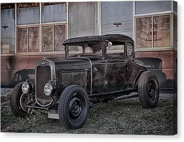 Old Hot Rod Canvas Print by Joachim G Pinkawa