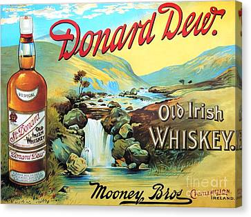 Old Irish Whiskey Canvas Print by Roberto Prusso