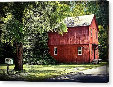 Old Mill In West Virginia Canvas Print by Michael Forte