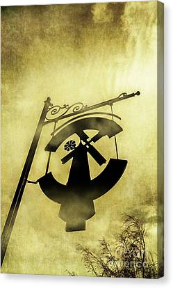 Old Ornately Decorated Sign Canvas Print by Jorgo Photography - Wall Art Gallery