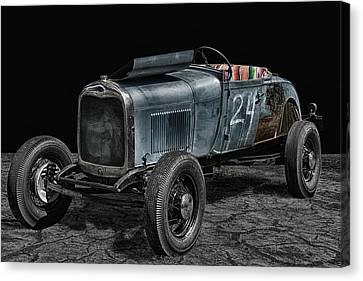 Old Roadster Canvas Print by Joachim G Pinkawa