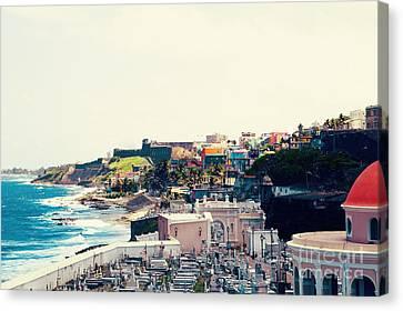 Old San Juan Puerto Rico Canvas Print by Kim Fearheiley