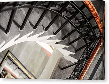 Old Stairs Canvas Print by Toppart Sweden